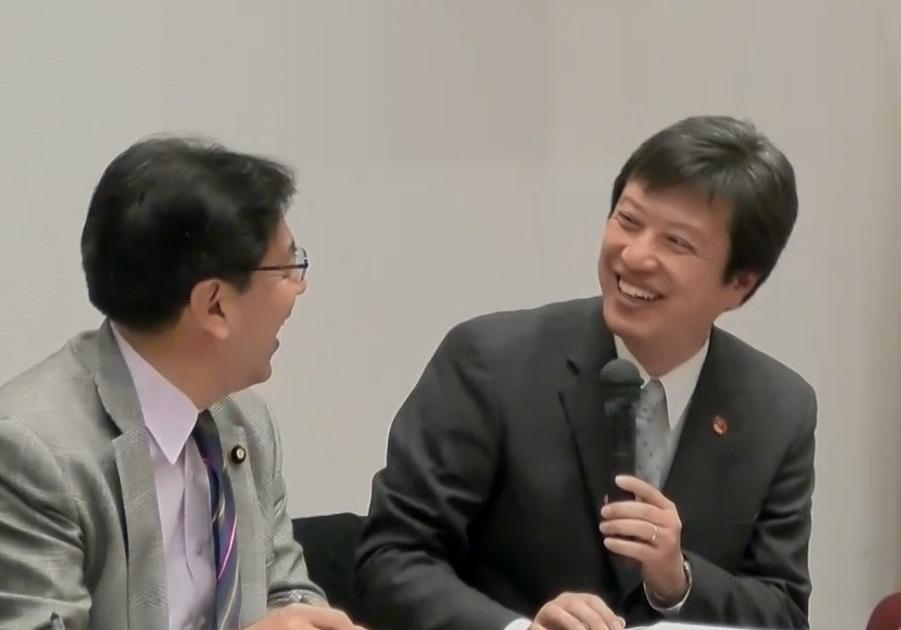 金田氏&水岡氏