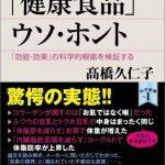 【動画】 高橋久仁子さん講演「それでも買いますか?『健康食品』のウソ・ホント」